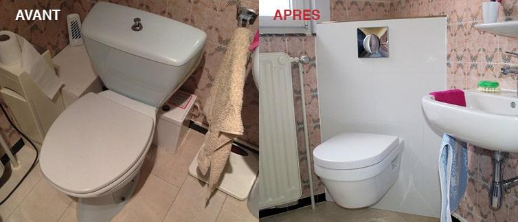 remplacement sanitaires et adaptation salle de bain personnes âgées