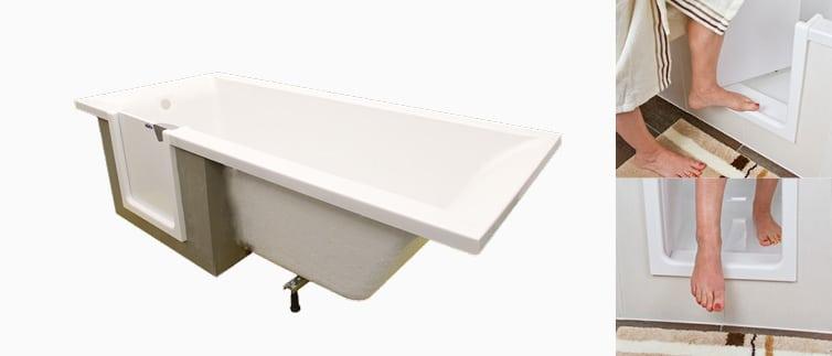 Varidooor, la baignoire à porte sur mesure