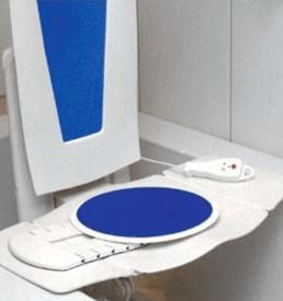 Disque de transfert pour siège élévateur de bain