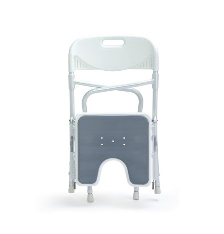 Le siège de douche repliable et facile à transporter