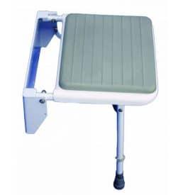 Siège de douche sans accoudoirs avec mousse pour cabine modulable