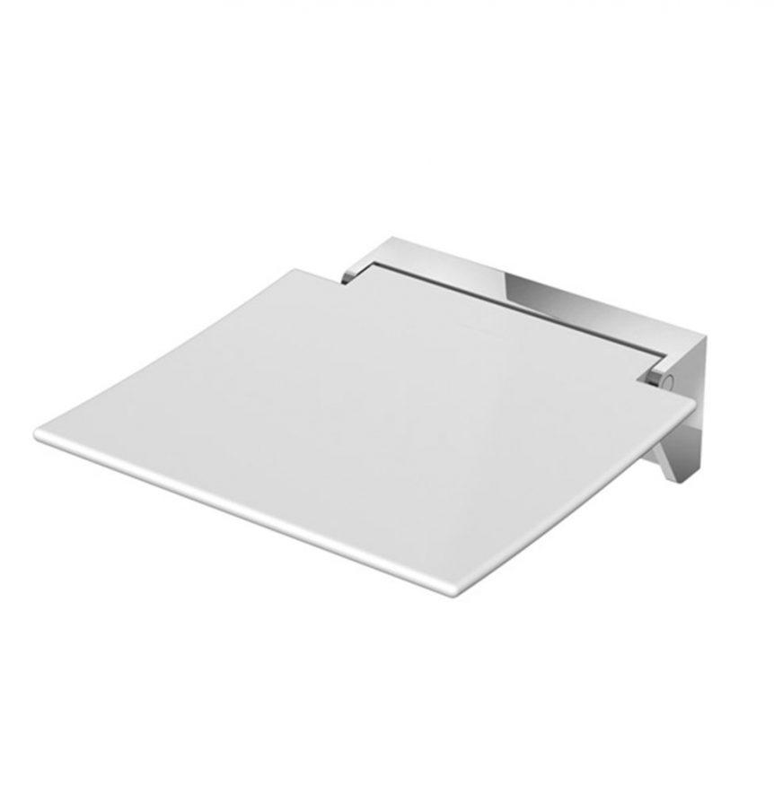Siège de douche design sans accoudoirs Hewi 350