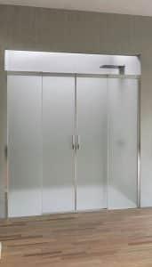 Duka Aqua R 5000 porte coulissante pour douche en niche
