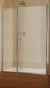 Paroi battante pour douche en niche duka multi s 4000