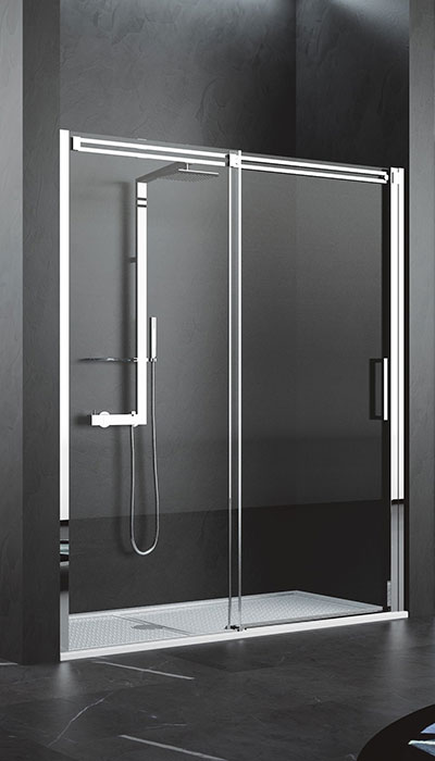 novellini diamanti porte coulissante pour douche en niche hyseco belgique. Black Bedroom Furniture Sets. Home Design Ideas