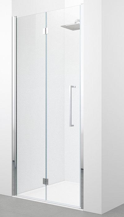 Novellini young 2.0 porte pliante pour douche en niche