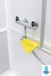 Mitigeur de douche ergonomique et adapté aux pmr
