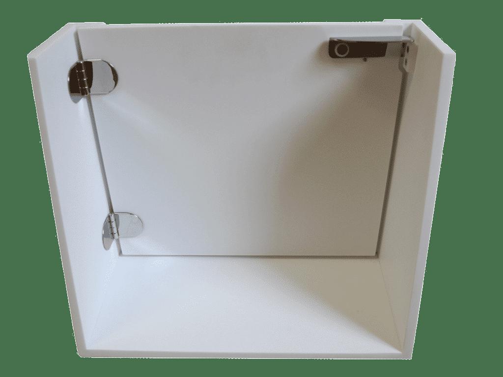 Flexidoor la porte pour baignoire existante hyseco belgique for Mesure standard baignoire